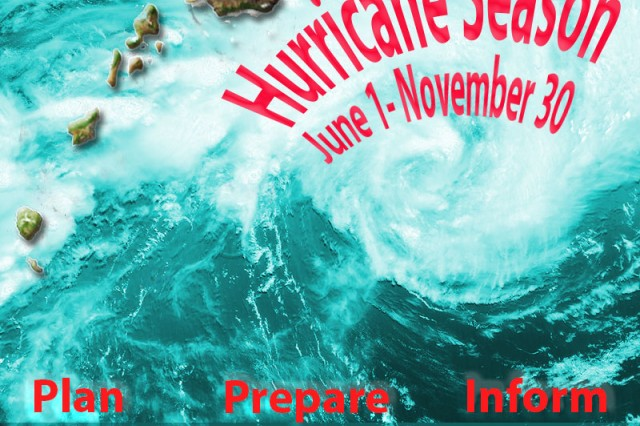 This is a graphic used to prepare for hurricane season in Hawaii, June through November.