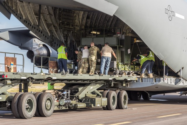"""Robert """"Hunter"""" Blackwell and his team prepare for the 2018 Rim of the Pacific Exercise, which was held in and around Hawaiian Islands and Southern California."""