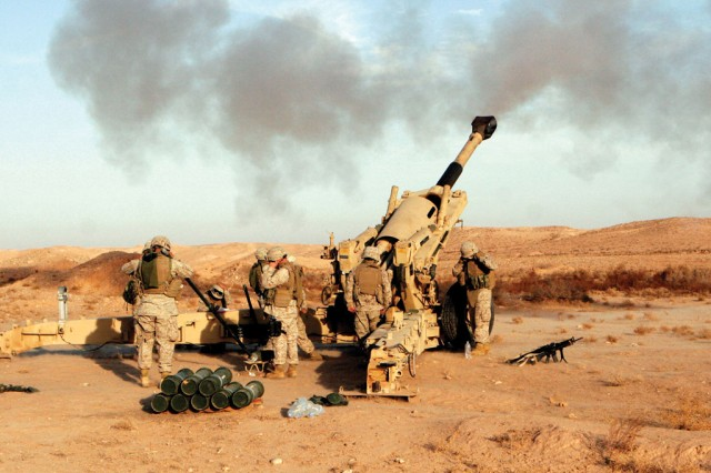 The M198 howitzer was first fielded in 1978 and was phased out in favor of the lighter M777 howitzer beginning in 2005.