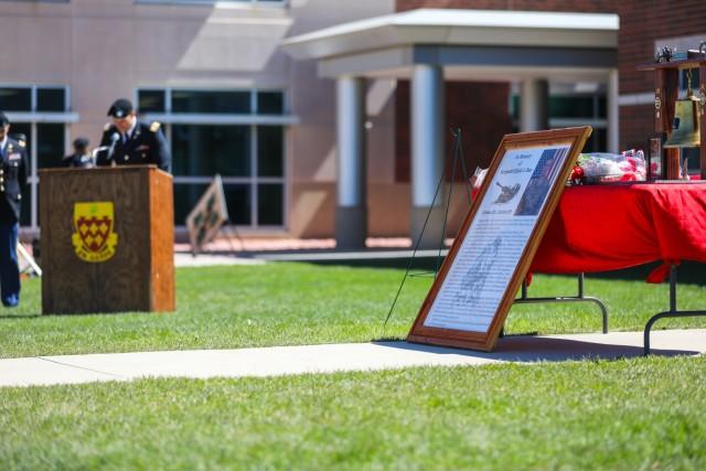 Ten years of tears Soldiers commemorate fallen warriors