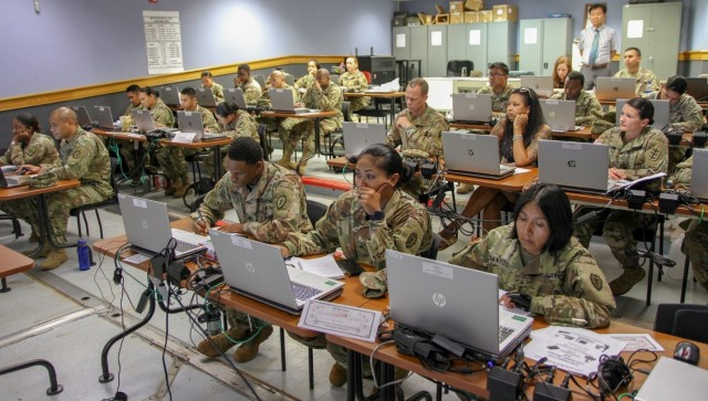 8th TSC and 19ESC enhance theater readiness with logistics training team