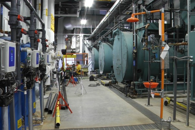 The new boilers at Iowa Army Ammunition Plant support production while ensuring facilities meet environmental compliance regulations, reduce cost, and improve efficiency of production.