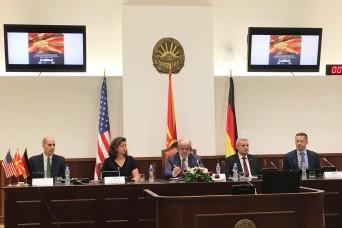 Marshall Center Hosts 'Next Steps to NATO' Seminar in North Macedonia