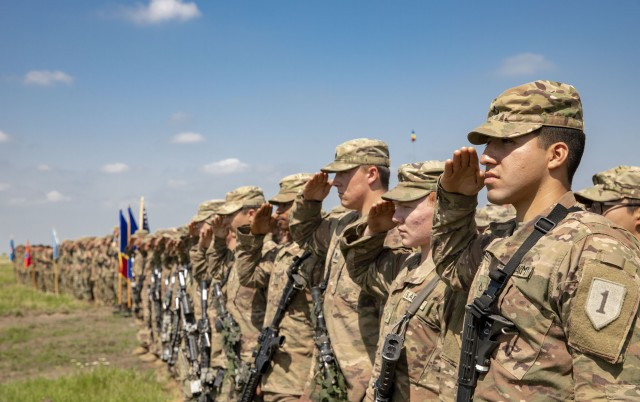 Iron Rangers Train with Romanian Allies During Justice Eagle