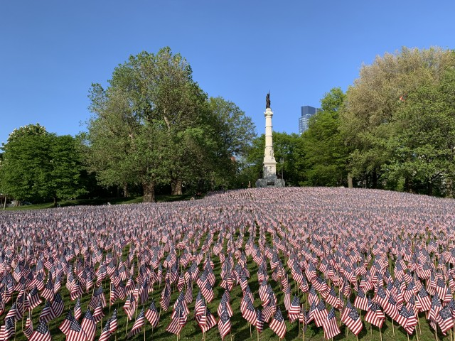 Boston Common Memorial Garden