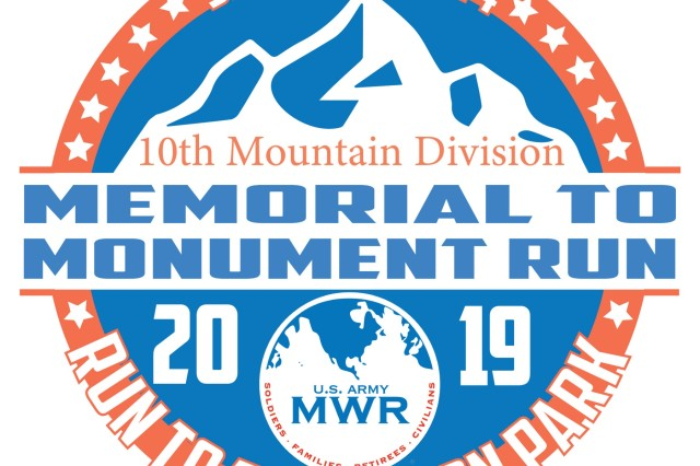 Brooke Dorazio, a South Jefferson High School senior, was named winner of the 2019 Memorial to Monument Run T-shirt Design Contest at Fort Drum, New York. The run, scheduled for Sept. 14, is in its second year and is hosted by Fort Drum Family and Morale, Welfare and Recreation, in partnership with the city of Watertown. (Fort Drum FMWR Graphic)
