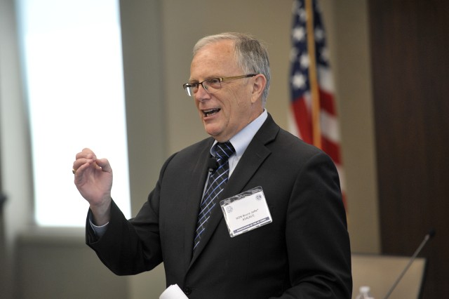 "Logistics should not be an afterthought, but instead be an integrated component of how combat systems are designed, said Assistant Secretary of the Army (Acquisition, Logistics and Technology) Bruce Jette during an Association of the U.S. Army ""Hot Topic"" Sustainment symposium, May 29, 2019."