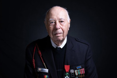 At age 18, Herman Zeitchik was among the 4th Infantry Division soldiers who landed at Utah Beach early on the morning of June 6, 1944.  He helped liberate Paris, hold back the Nazis at the Battle of the Bulge, and free starving prisoners at the Dacha...