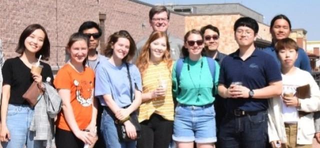 Korean, American college students visit Camp Humphreys
