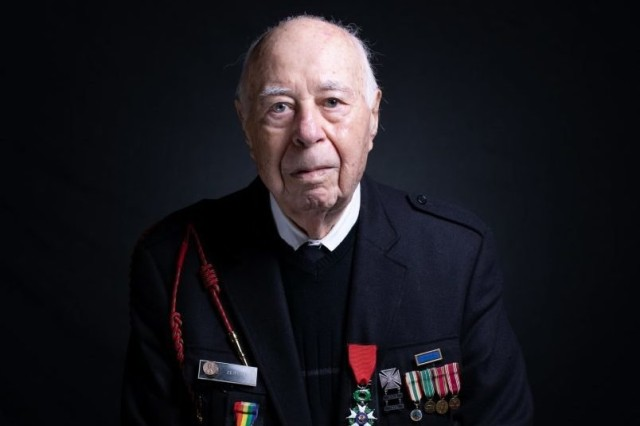 At age 18, Herman Zeitchik was among the 4th Infantry Division soldiers who landed at Utah Beach early on the morning of June 6, 1944. He helped liberate Paris, hold back the Nazis at the Battle of the Bulge, and free starving prisoners at the Dachau Concentration Camp. Herman is a Knight in the French Legion of Honor. He is married to the love of his life and has two daughters.