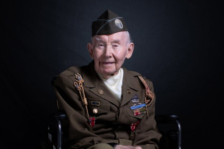 The night before American Soldiers stormed the beaches of Normandy, Joseph Reilly and the 101st Airborne Division parachuted behind enemy lines. He and his fellow soldiers helped secure Utah Beach and the first foothold in America's liberation of Wes...