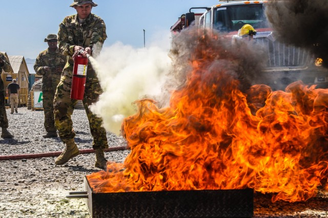 Task Force Heavy Cav Soldiers Train to Combat Fires