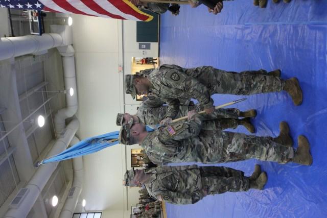 782nd Military Intelligence (MI) Battalion (Cyber) leaving command