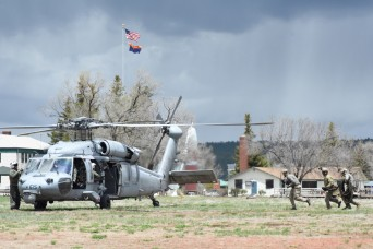 Special Forces train Red Flag Rescue at Camp Navajo