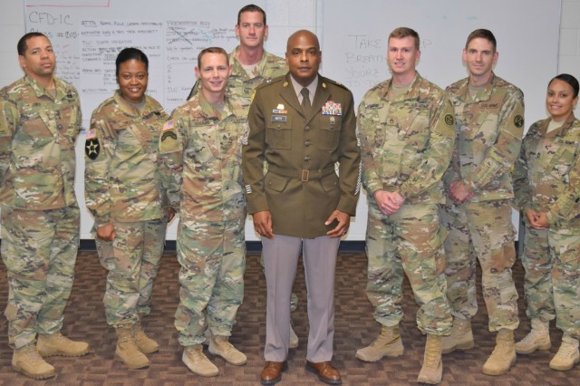Command Sgt. Maj. Gregory Betty, command sergeant major of the 100th Training Division (LD), is one of the 260 senior leaders selected by US Army Senior Leadership for initial fielding of the Army Greens service uniform.