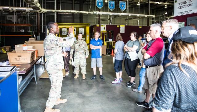 Recruiting Battalion Educational Tour
