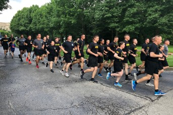716th Military Police carries Olympic Torch for the 2019 Special Olympics