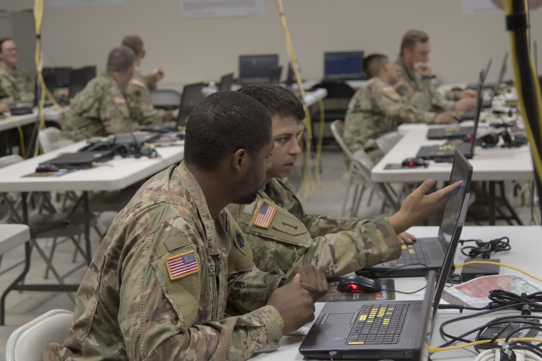 Oklahoma Guard uses virtual battle space at Western Strike ...