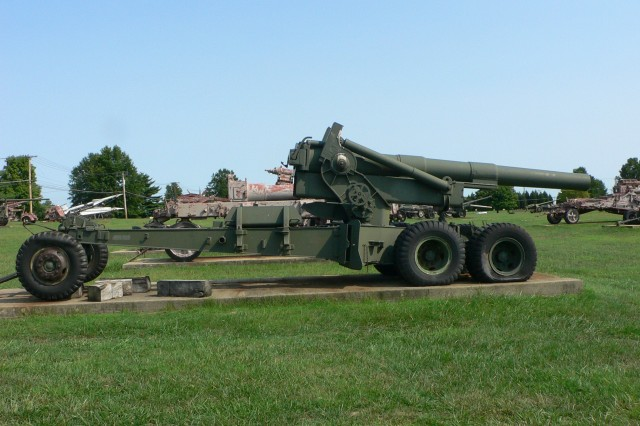 The M115 howitzer was standard issue during both the Korean War and Vietnam War.