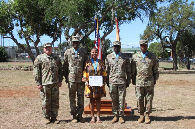 8th TSC recognizes Dr. Mary E. Walker and Sergeant Audie Murphy award recipients