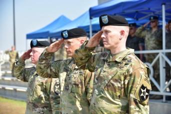 2ID/RUCD welcomes new deputy commanding officer, farewells another