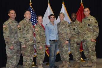 Cal Guard enlists first female to Combat Arms