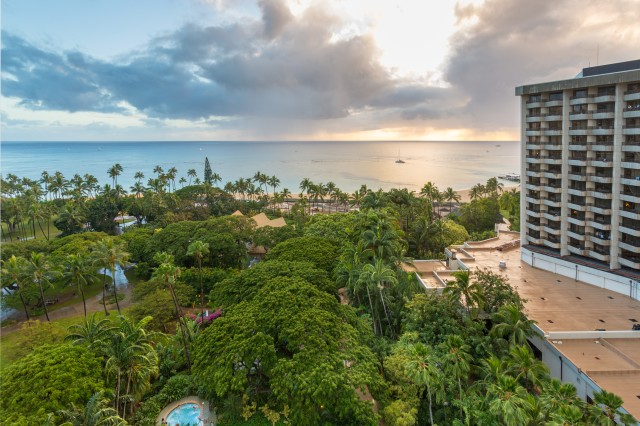 AFRC Resorts' Hale Koa Hotel on Waikiki Beach, Hawaii, currently has more than 70 separate reinvestment projects in the works.