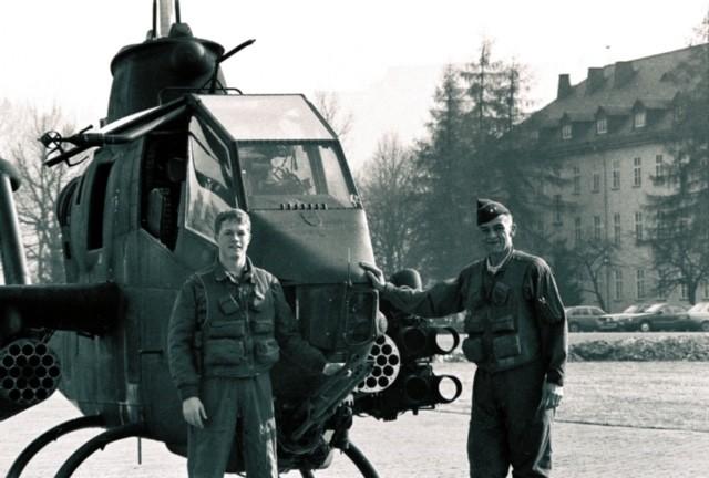 Retired Maj. Gen. Robert Molinelli and retired Col. David Molinelli