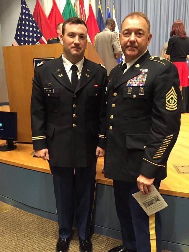 Capt Little Graduates TJAGLCS