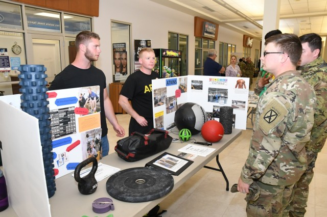 Whether it was some helpful reminders or a discovery of much-needed support and services, there was something for everyone to learn June 13 at the 101 Days of Summer Health and Wellness Fair. The fair was hosted by the Fort Drum Prevention Programs Fair at the Exchange, and it offered attendees a chance to familiarize themselves with organizations on posts, to include the Ready and Resilient Performance Center, Environmental Health and the Fort Drum Safety Office. (Photo by Mike Strasser, Fort Drum Garrison Public Affairs)