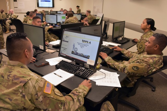 National Guard Soldiers learn the new online Human Resources system, IPPS-A (Integrated Personnel and Pay System-Army) during a Basic Introduction to IPPS-A workshop at the National Guard Professional Education Center on Camp Robinson Maneuver Training Center, North Little Rock, Ark., June 13, 2019.  The workshop gives Soldiers hands-on experience with a live data set within a live training database before the system is deployed to their states and territories.