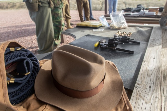 Shooting into the past: retired Soldier shares history with the next generation