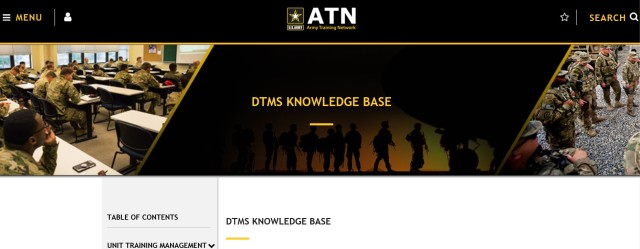 DTMS Knowledge Base on the ATN