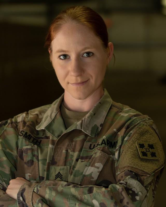 Sgt. Sidnie Smith Portrait