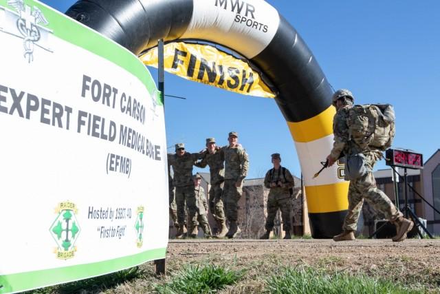 Expert Field Medical Badge - Fort Carson 2019