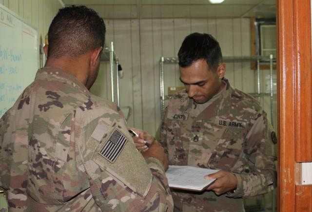 595th Trans Brigade Postal Officer