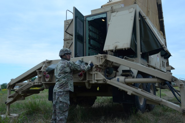 Patriot missile radar movement
