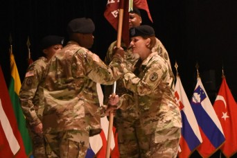 COL Kathleen Spangler assumes command of SHAPE Healthcare Facility, Brussels Army Health Clinic