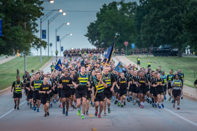 A traditional Chemical Corps Regimental Run is scheduled to kick off at 5:30 a.m. from Gammon Field June 27 as part of Regimental Week.