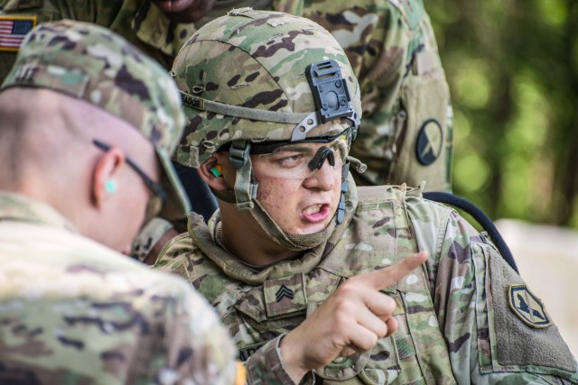 U.S. Army Intelligence and Security Command's Best Warrior