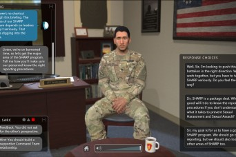 Virtual program adds 'elite' dimensions to SHARP training