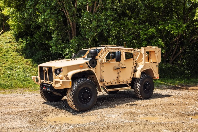 The Army has approved the JLTV program's transition into Full-Rate Production. The approval follows an Army decision in December 2018 to begin fielding the new platform with the Army's 1st Brigade, 3rd Infantry Division, Fort Stewart, Ga., in April. The 1-3 ID became the Army's first unit equipped with JLTVs in April 2019, after receiving more than 300 vehicles.