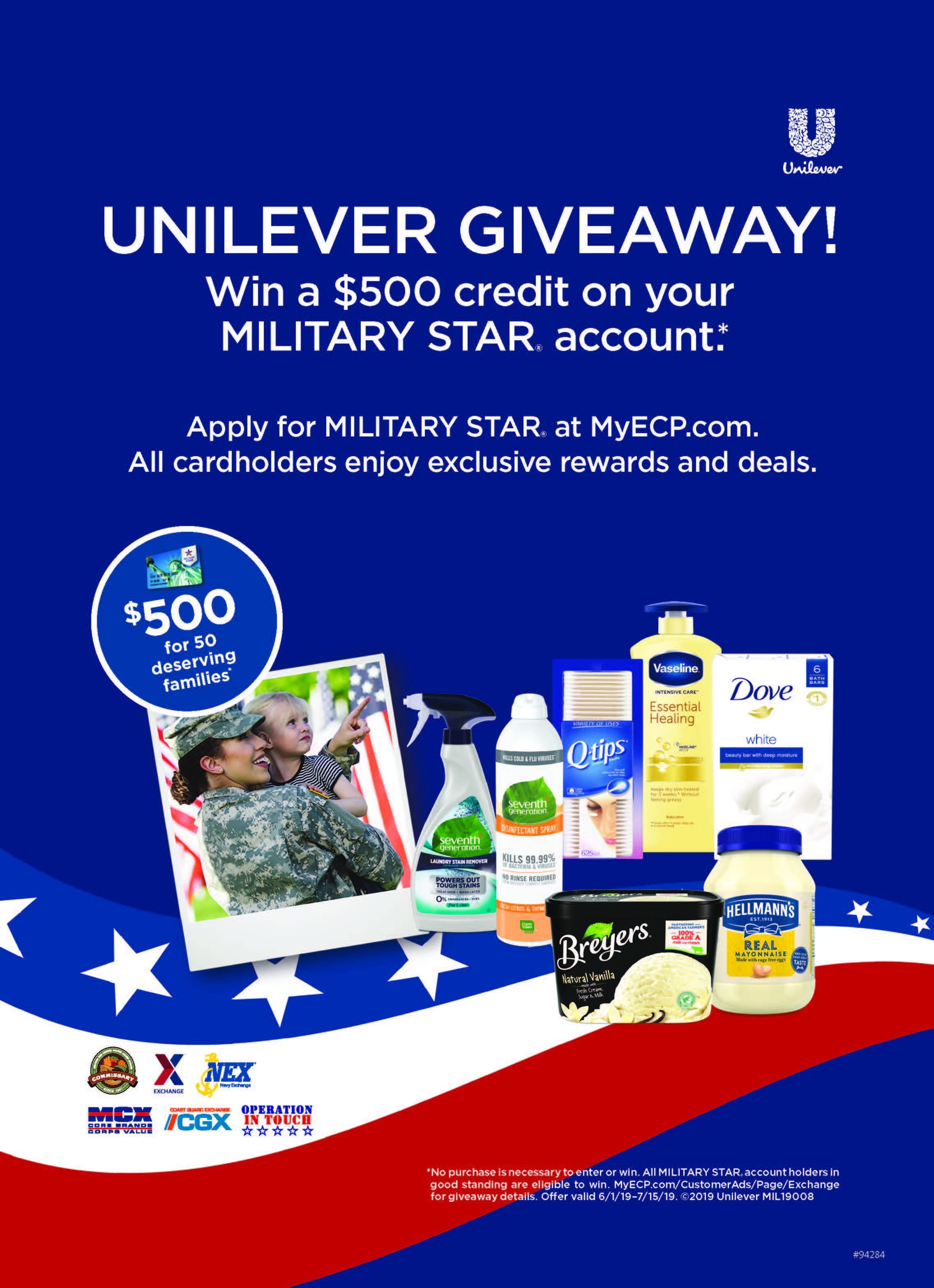 MILITARY STAR shoppers have chance at $25,000 in prizes in