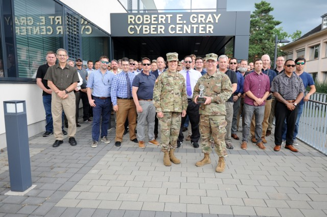 Regional Cyber Center -- Europe Named Army's Top Cyber Center
