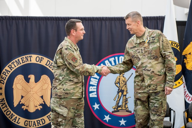 "This afternoon I was appointed Director of the Army National Guard.  I am sincerely humbled for this incredible opportunity. I stand ready to support the States, Territories and the District of Columbia to ensure our Nation's National Guard remains ""Always Ready, Always There!"""