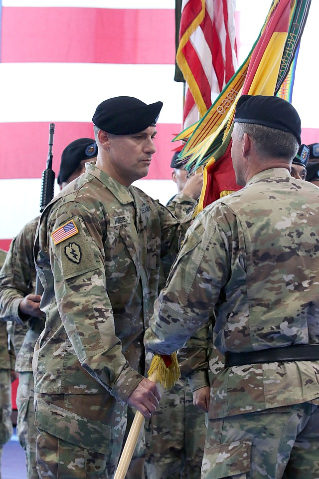 1st Infantry Division Artillery change of command