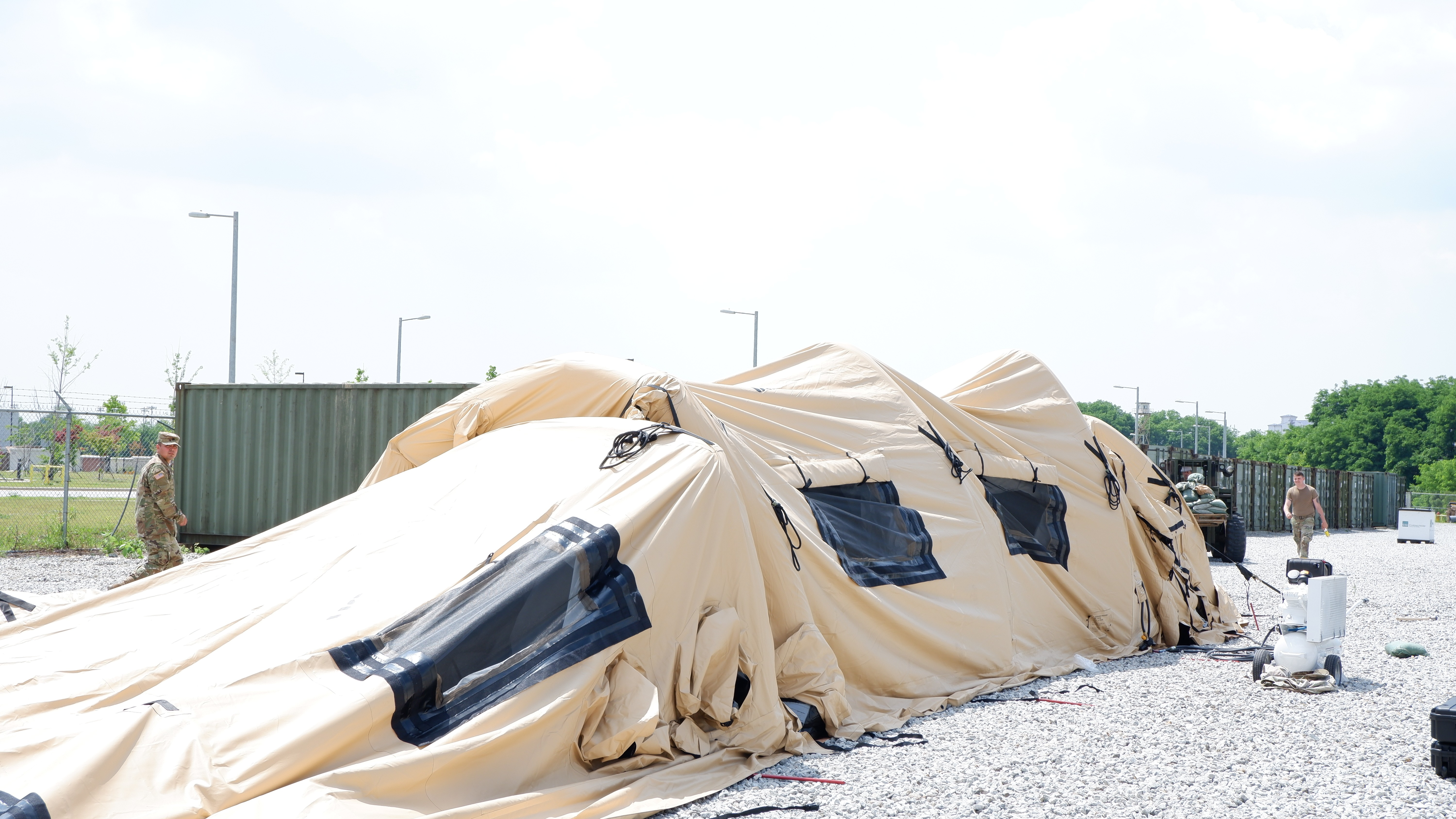 Air-Supported TEMPER Tents Maximizes Readiness | Article | The