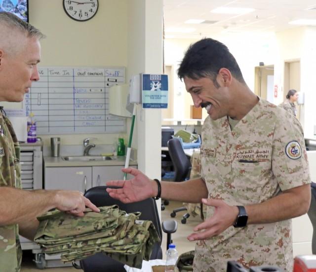 Kuwaiti Nurses Visit USMH-K
