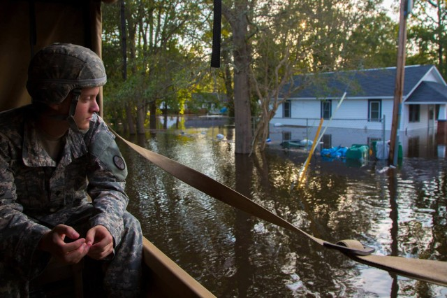 The active role played by contingency contracting Soldiers over the last two hurricane seasons led members of the 900th Contracting Battalion to conduct a one-day Defense Support of Civil Authorities exercise earlier this month to test their contracting knowledge at Fort Bragg, North Carolina. Hurricane season began this month and lasts through November.