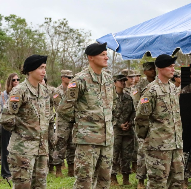 500th MI BDE-T welcomes new Command Sergeant Major